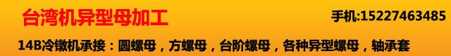 台湾机异型母加工