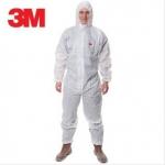 质量超好的劳保防静电服 连体带帽化学防护服 防化服