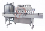 全自动液体灌装机成都同亨包装设备DYF6T-6G直线型 厂价
